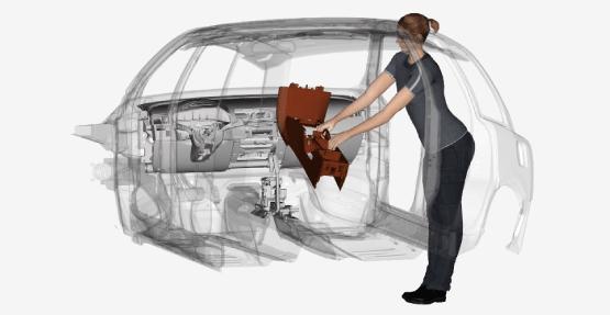 DYMARA – Ein dynamisches Manikin mit faserbasierter Modellierung der Skelettmuskulatur