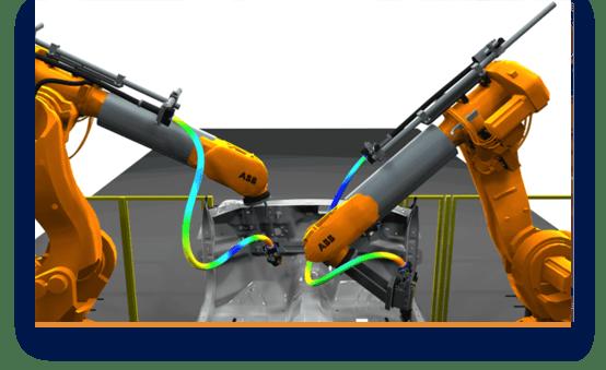 Auslegung und Analyse von Dresspacks am Roboter