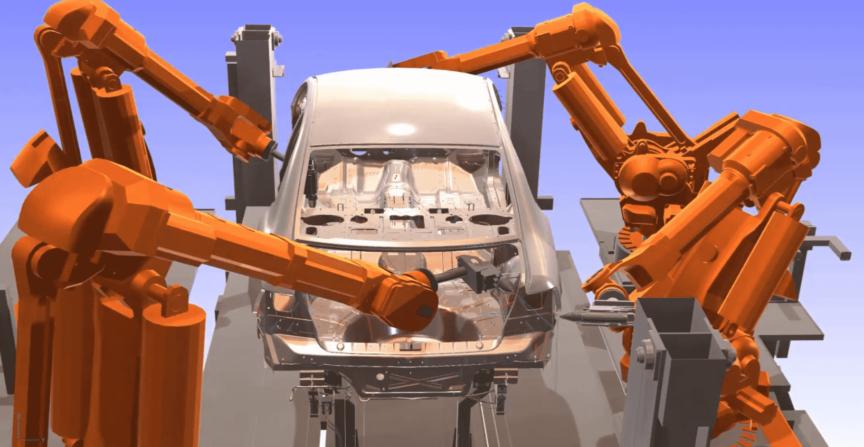 Optimierung der Roboterpfade