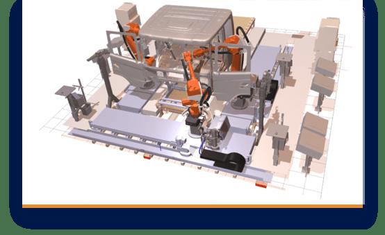 Automatischer Ausgleich von Aufgaben zwischen Stationen und Robotern
